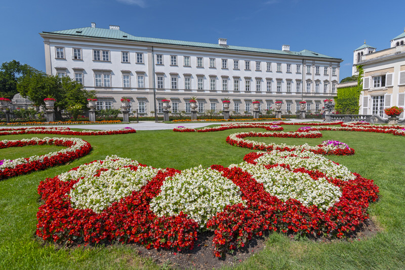 mirabell palace and gardens, austria