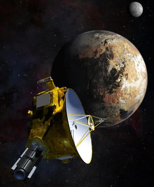 New Horizons interplanetary spaceprobe from NASA
