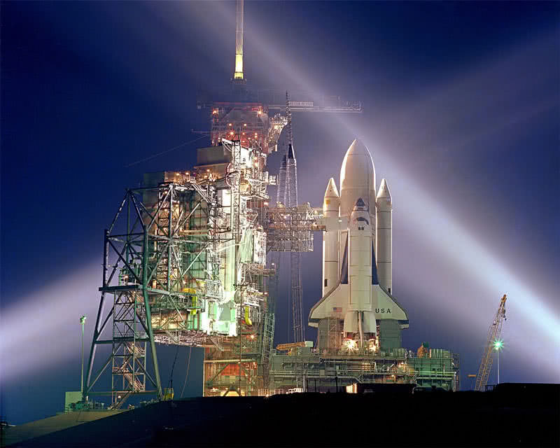space shuttle Coumbia