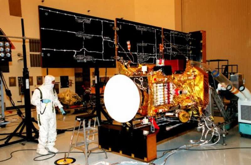 stardust spaceprobe from NASA