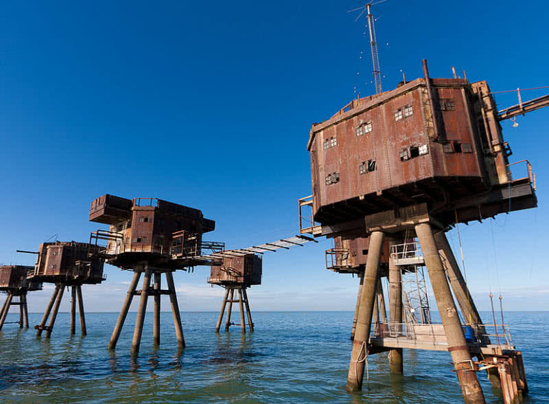 Maunsell fortrs, England