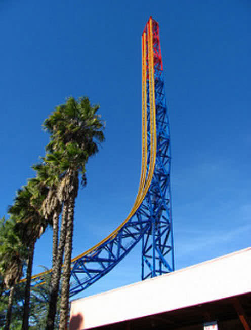 superman escape krypton roller coaster
