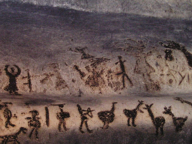 Magura cave painting