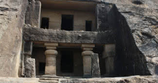 magnificent rock cut caves in India