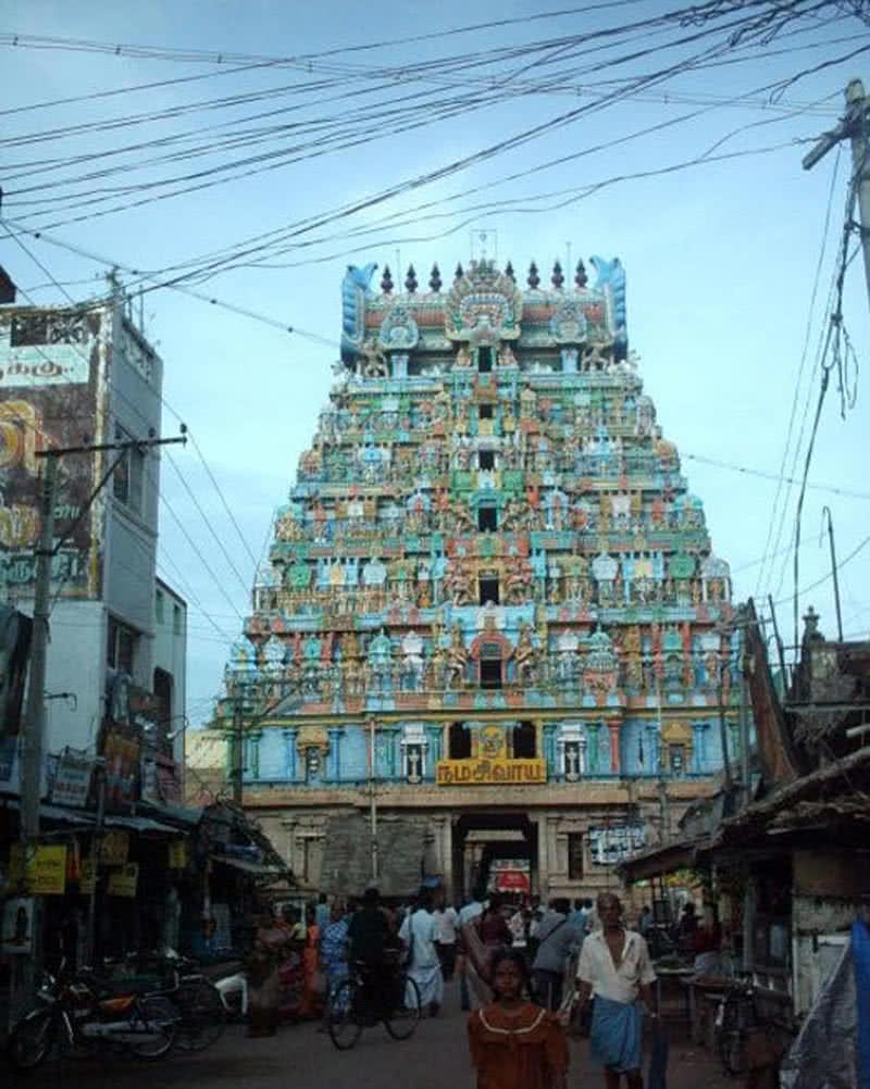 Thiruvanaikaval Shiva temple