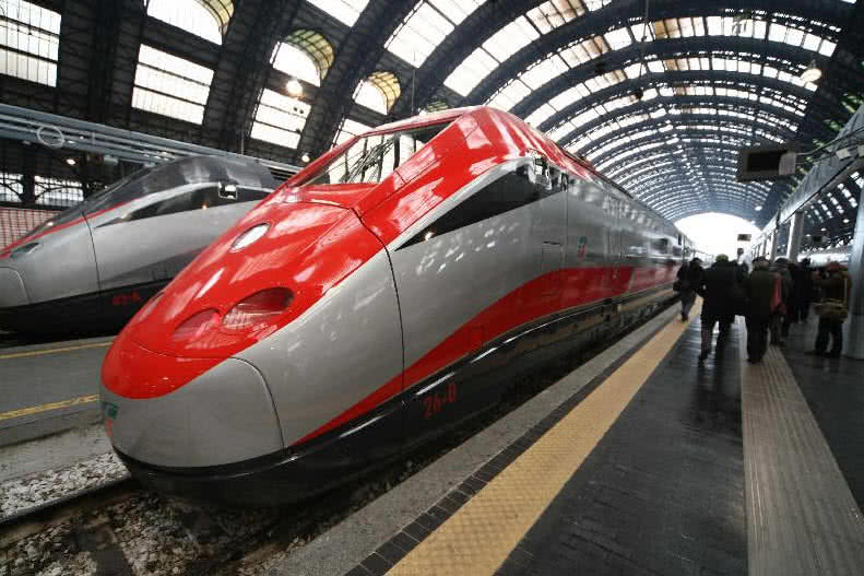 ETR 500 Frecciarossa Train