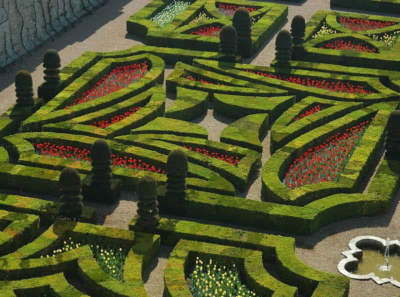 gardens of Chateu de Villandry