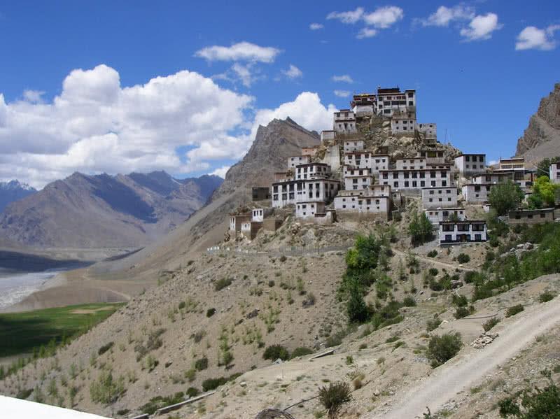 key monastery a suureal buddhist monastery