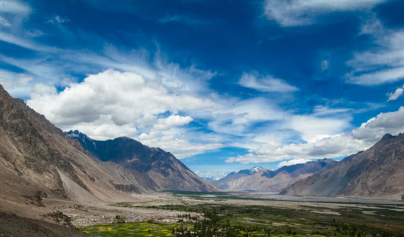 nubra velley in ladakh