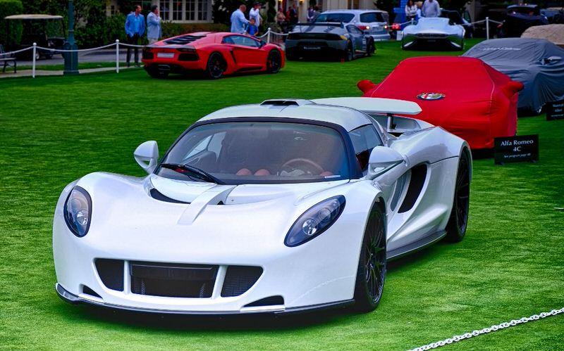 ТОП-10 самых быстрых автомобилей